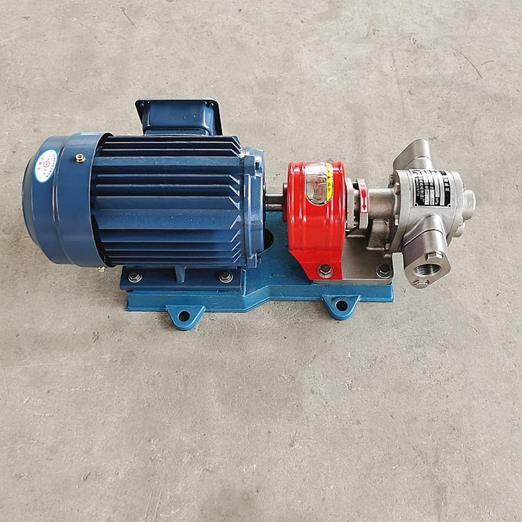 KCB-200不銹鋼齒輪泵 潤滑油輸送泵 不銹鋼耐酸堿齒輪泵