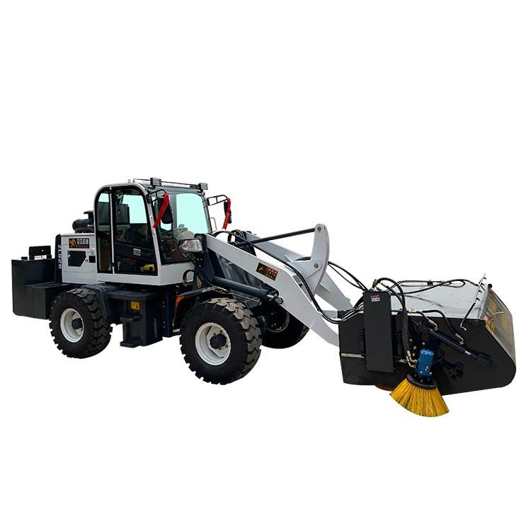 順飛 鏟車改裝清掃機 大型工地掃地車 施工道路清掃機