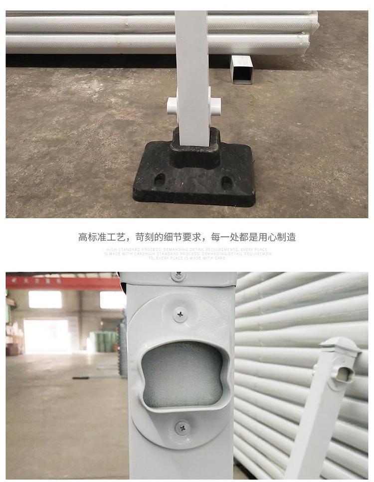朔州 锌钢护栏 道路安全护栏 隔离栏杆 现货直供示例图3