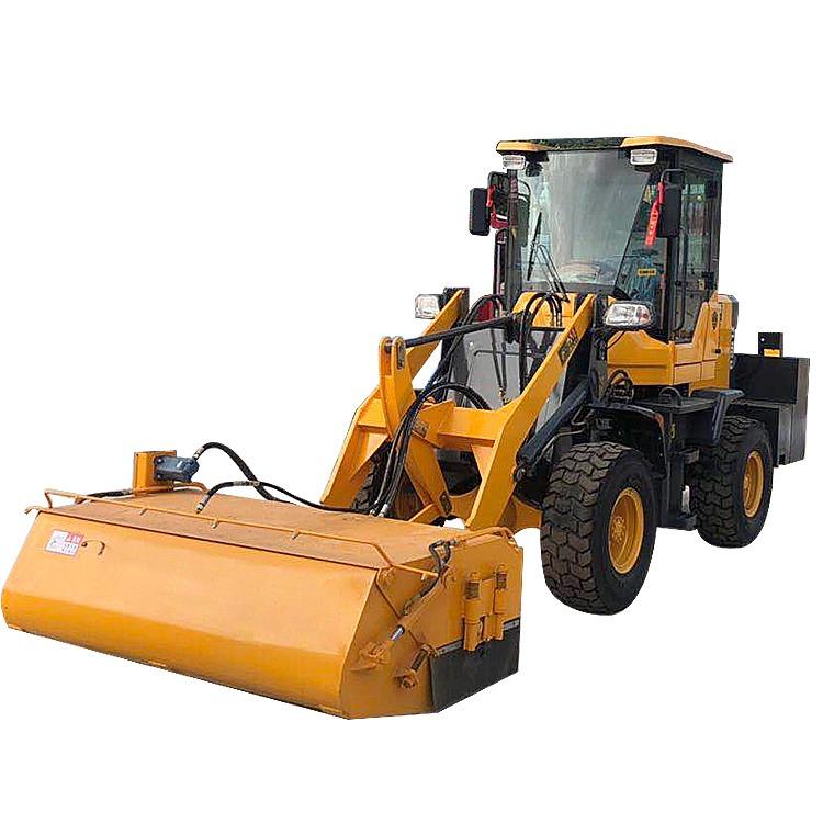 大型碎石清掃車 順飛 水穩路面碎石清理機 道路工程清掃車