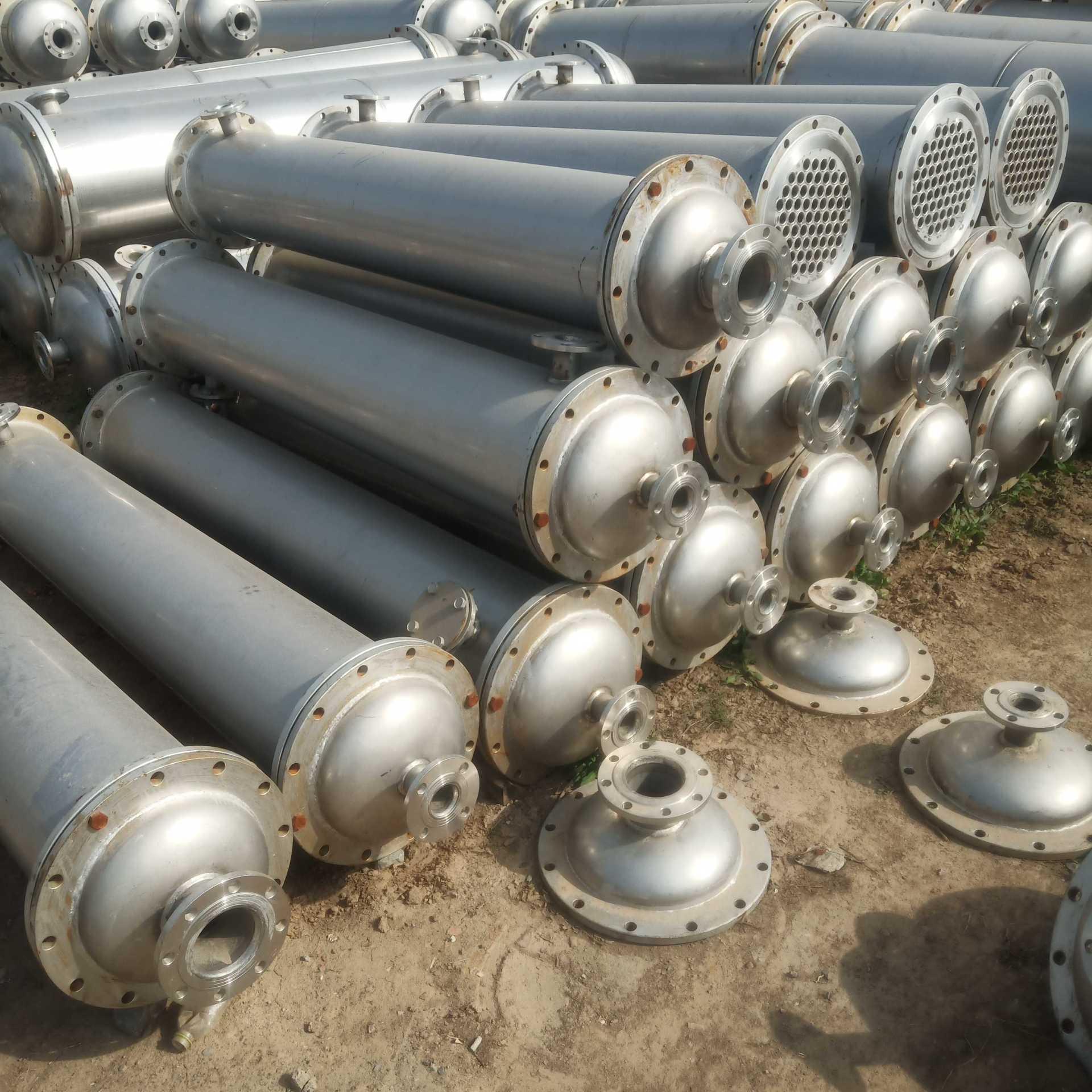 不銹鋼冷凝器 二手不銹鋼冷凝器 梁山玉民設備購銷 來電咨詢