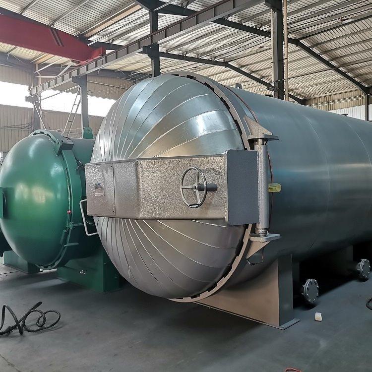 硫化罐 魯貫通 橡膠材質 橡膠硫化罐廠家 40150 廠家直供